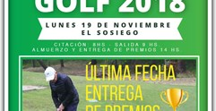 Liga Macabeo Golf 2018